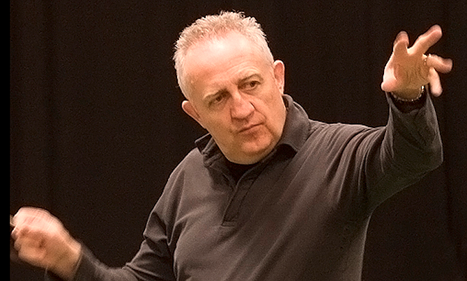 """Bramwell Tovey: """"Four years at Julliard for that!"""""""