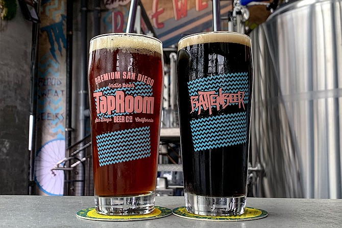Batten Beer now served at TapRoom Beer Co. include an ESB and American stout.