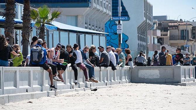 Pacific Beach Boardwalk Scorned