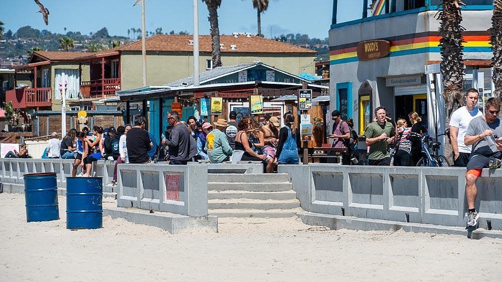 Pacific Beach boardwalk