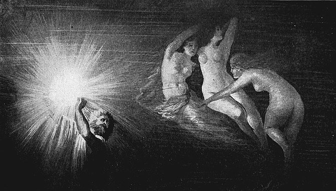The Theft of the Rheingold by Hans Makart