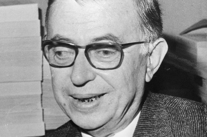 Jean-Paul Sartre, Mr. Hell is Other People himself