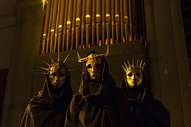 """Imperial Triumphant: """"The masks do a lot of the work."""""""