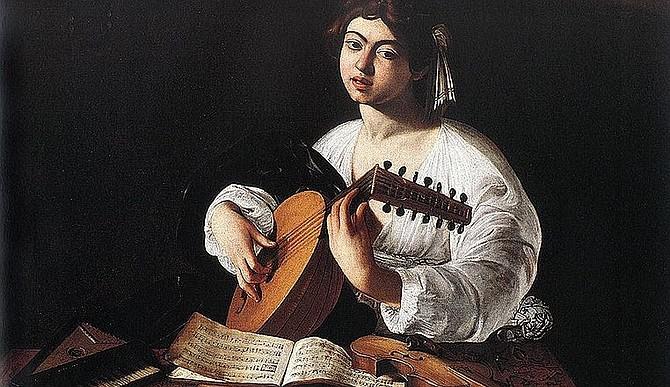 Caravaggio's The Lute Player