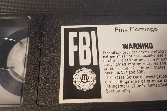 Pink Flamingos: Even filthier on VHS!