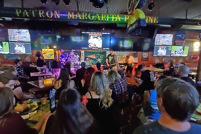 Open-mic night at P.B. Cantina has gone online, and international.