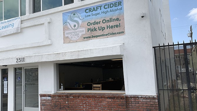 A new cider tasting room would have opened in North Park this week, if not for the pandemic.