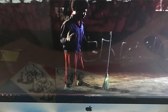 The original broomstick challenge.