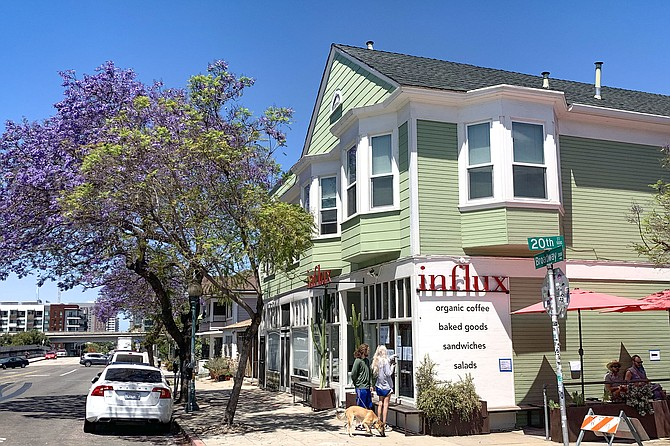 The springtime return of Influx Cafe to Golden Hill