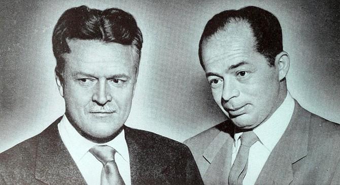 Charles Brackett and Billy Wilder