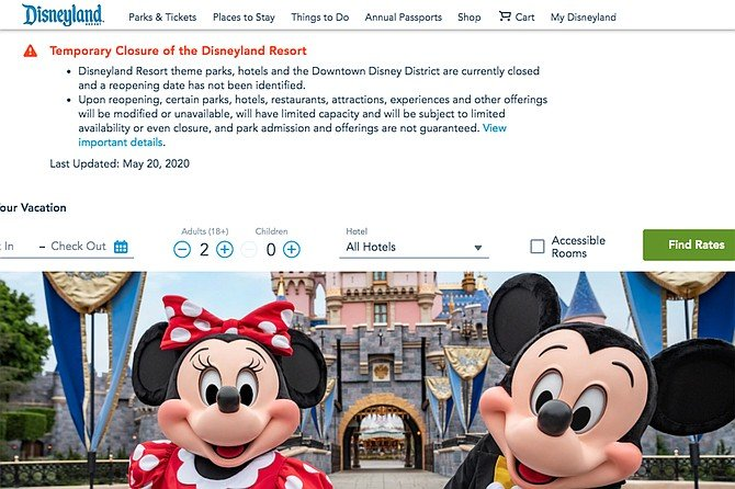 Lorena Gonzalez received $418 worth of Disneyland tickets on March 7 before it closed on March 14 due to the COVID-19 pandemic.