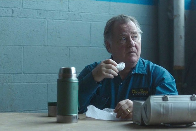 Working Man: Peter Gerety stars as a different sort of invisible man.