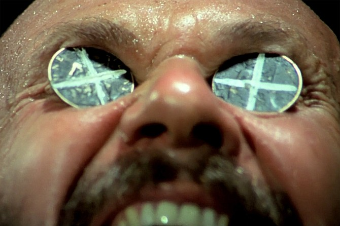 Wake in Fright: Pleasance, as in Donald, brings pain.