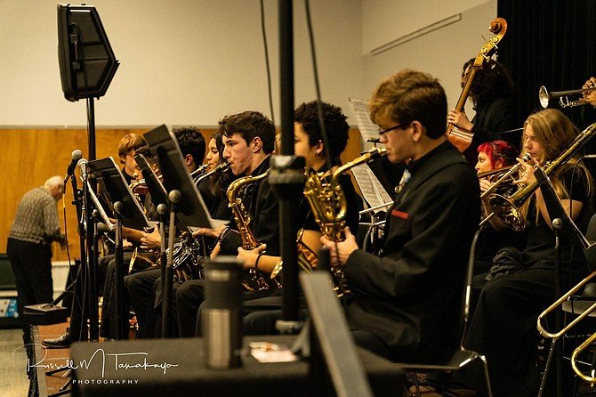 """""""The band room was their sanctuary,"""" say Helix High School music director Mike Benge."""