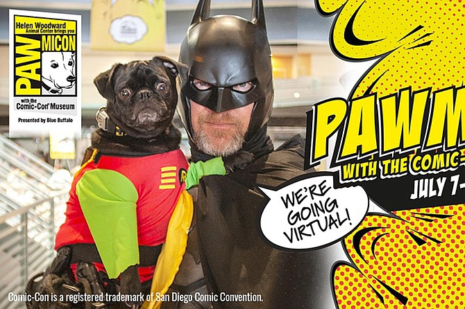 PAW-MICON returns virtually for pets, comics and much more.