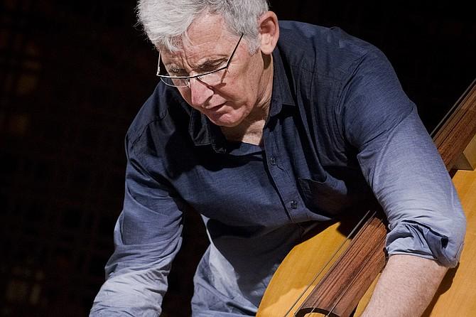 Mark Dresser  — jazz man, classical musician, telematics pioneer.