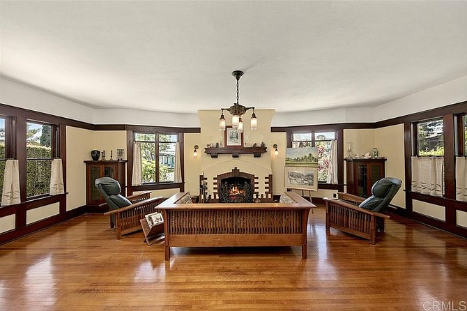 Why have a brick fireplace when you could have a much hipper clinker brick fireplace?