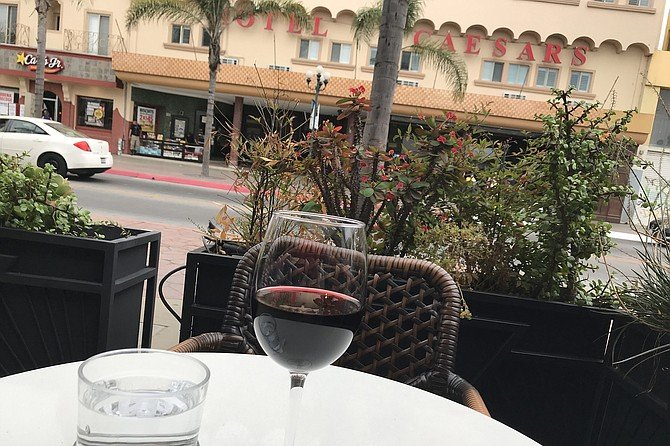 A Mexican wine in the heart of Tijuana's downtown. Elegance hangs in here.