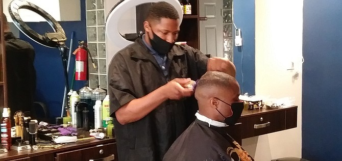 Darrius Pope says the worst place for Black Marine to get trimmed is Japan.