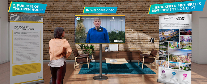 From the city's virtual showroom on the Midway project