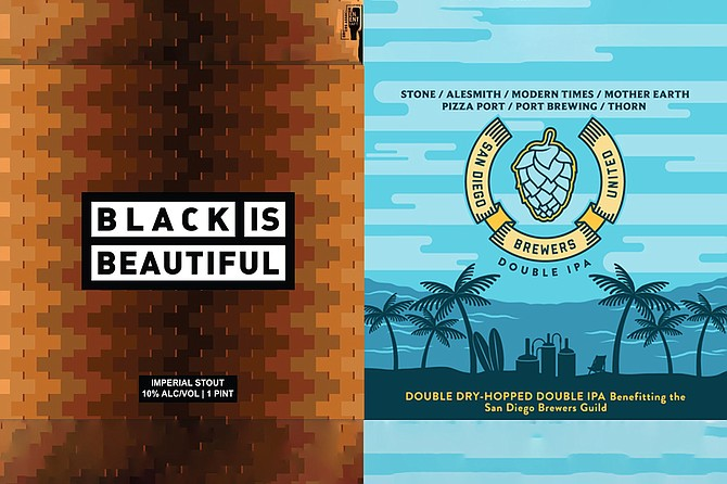 Dozens of San Diego breweries have contributed to fundraising beers.