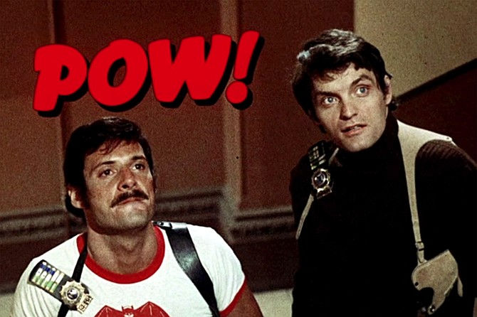 The Super Cops: Ron Liebman and David Selby star as New York's Finest real-life Batman and Robin replicas.