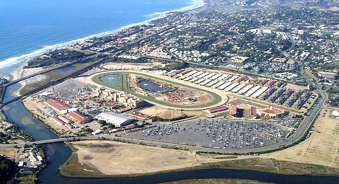 """""""Why is it that Orange County fairgrounds, which doesn't have a racetrack, has $53 million in reserves and we are $96 million in debt?"""""""