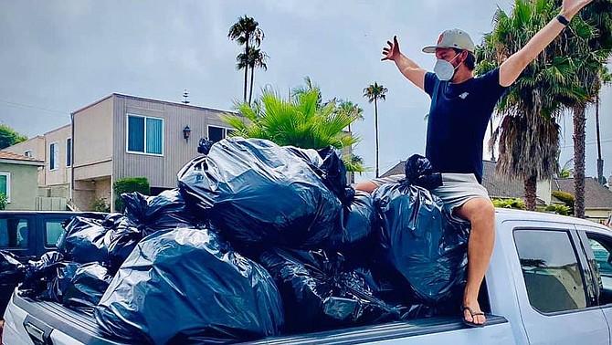 48 hours of trash