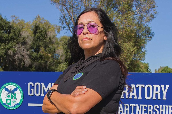 """Gompers has always done the """"heart work"""" for the kids in addition to the regular hard work of education, says Dolores Garcia, """"and the union does not want to do that."""""""