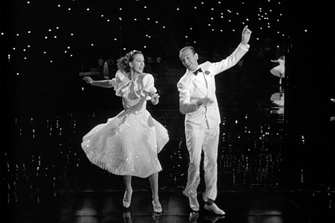 Broadway Melody of 1940: Mirrors, mirrors everywhere, to reflect the brilliance of Powell and Astaire.