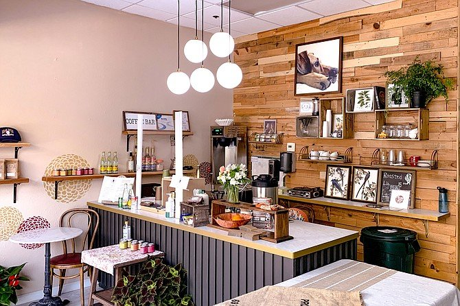 The new Dane Coffee café: cozier than the usual mall coffee shop