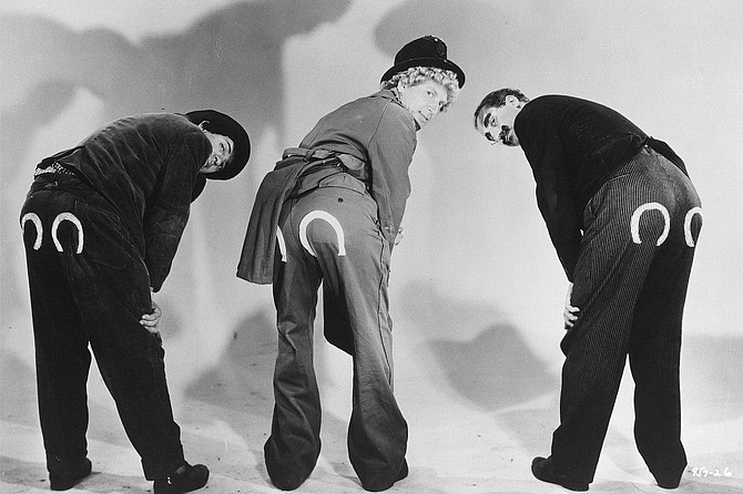 The Marx Brothers: Ain't that a kick in the can?