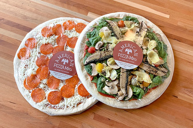 Packaged, take and bake pizzas from American Pizza Mfg