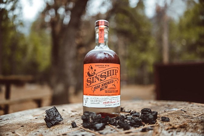 SinShip's 1930 Smoked Rum was the first peat-smoked rum on the market. - Image by Bradley Dunn