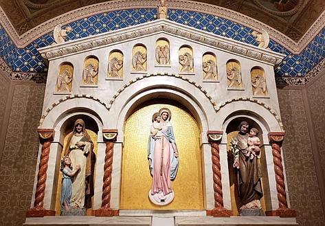 Altarpiece after restoration