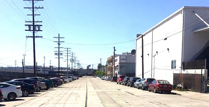 Hancock Street is currently dedicated to cars.
