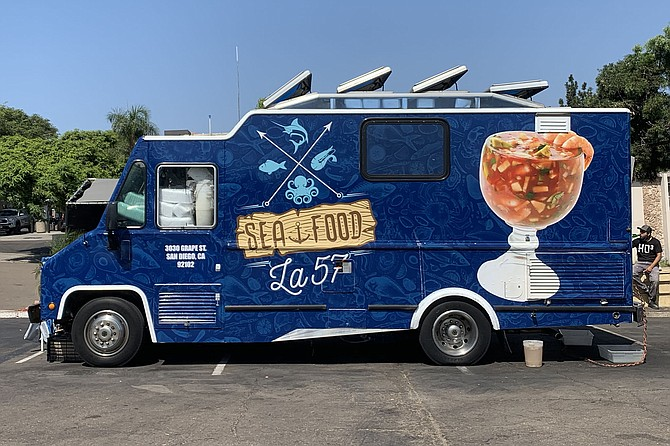Seafood la 57 looks like a new food truck in South Park, but is it?