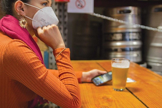 """""""Right now, it's literally impossible to meet people outside of the apps. Even if you go to the brewery, you can't talk to people that you didn't go with. I would just feel so uncomfortable because not only would it be weird to talk to someone but you don't want them to feel uncomfortable about your health. It feels — maybe it's not — but it feels very impossible to meet somebody outside the apps right now."""""""