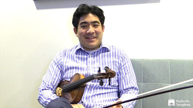 Jun Iwasaki, concertmaster of the Nashville Symphony, thinks the orchestra's ability to listen to each other will be the main challenge.