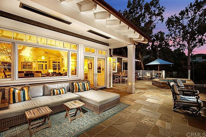 Want a patio that maximizes sunset views? Just place it on the third floor!