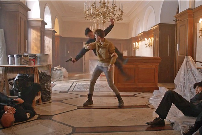 Win action fest, The Doorman DVD starring Ruby Rose & Jean Reno