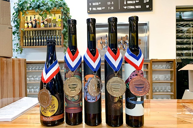 Five more Mazer Cup medals for Lost Cause, the winningest meadery of the past two years