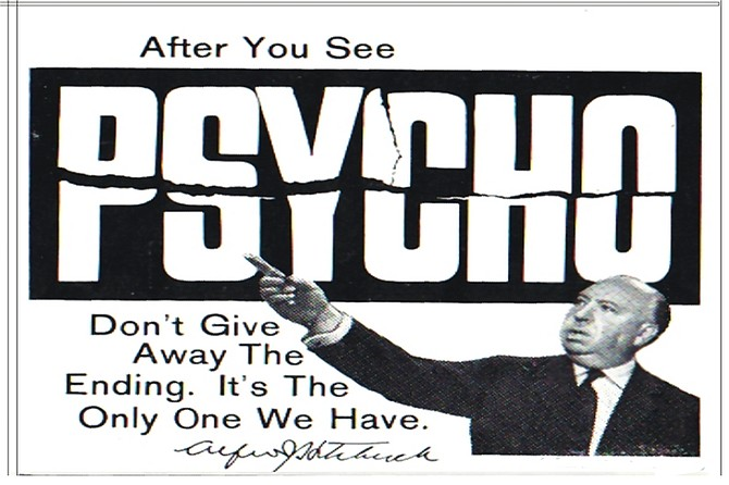 """Psycho: What about the title made dad think """"child friendly""""?"""