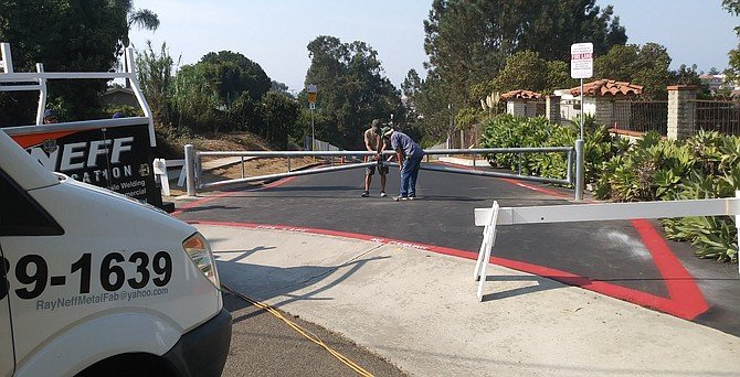 Cavalier's fire lane entrance on Stewart Street is only 0.8 miles from Oceanside fire station No. 2.
