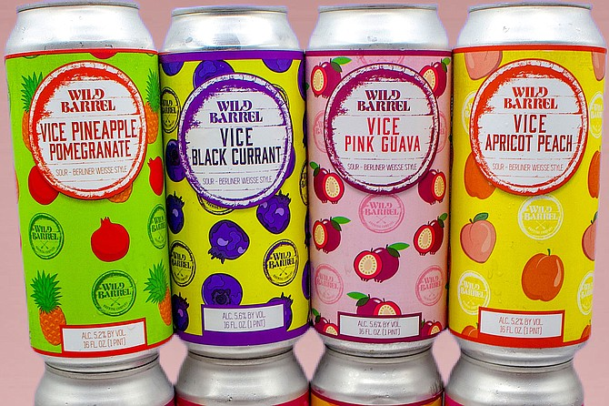 Wild Barrel has a hit in many colors with its tart Vice series of fruited beers.