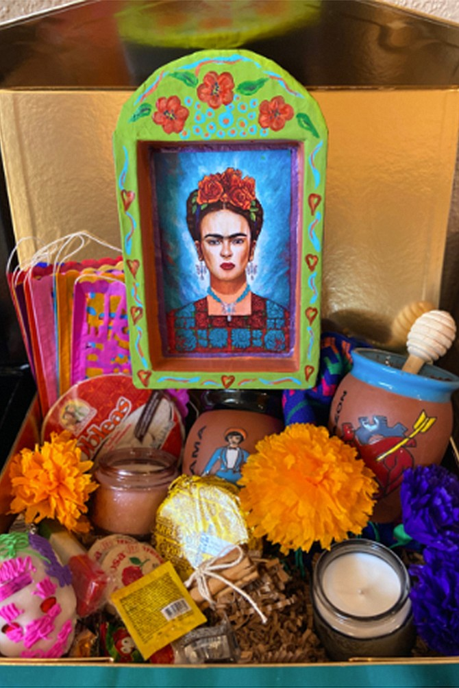 Christie's Place will be selling curated box sets for you to enjoy while we live stream folklore dances, displays of our two altars, interviews and more. Our box sets include contents and instructions for creating your very own ofrenda, or altar, to honor your loved ones who have since passed on.