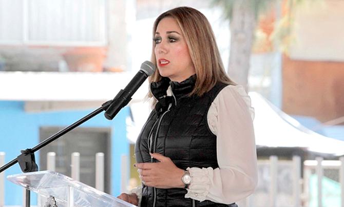 Tecate's mayor Olga Zulema Adams