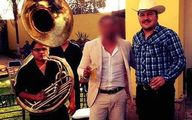 Chino Antrax (center), Sinaloa Cartel hitman and smuggler, disappeared from his San Diego home and headed to Sinaloa, where he was found murdered.