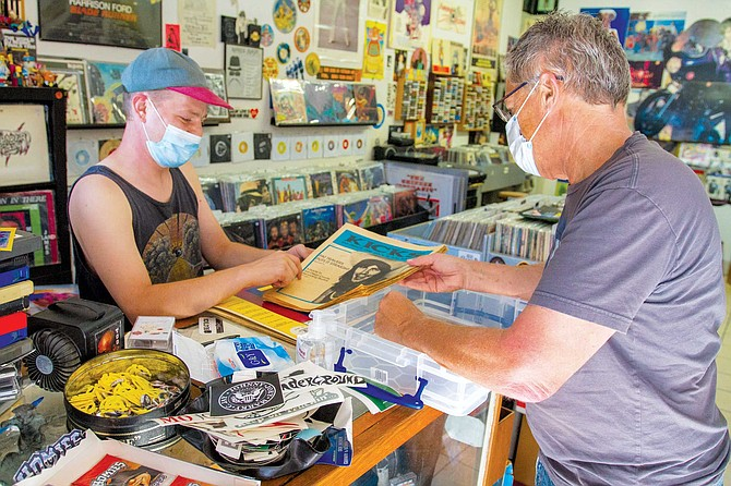 I was there to buy a slice of my past: 16 issues of Kicks: San Diego's Rock 'n' roll Magazine, the monthly rock magazine I launched in 1979, when I was 21.