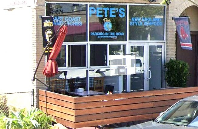 "Peter DeCoste, owner of Pete's Seafood and Sandwich: ""I was told that no structures will be allowed back into the street."""